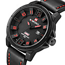 Buy NAVIFORCE® Military Watches Fashion Men Quartz Analog 3D Face Leather Clock Man Sports Army Watch Relogios Masculino Wrist Cool
