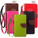Buy Special Design Leaves Model PU Leather Full Body Cases Wallet Huawei honor 4A/Y6