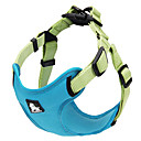 Dog Harnesses Adjustable/Retractable Red / Green / Blue / Brown / Gray / Orange / Rose Nylon