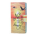 Buy Huawei Case / P8 Lite Stand Full Body Word Phrase Hard PU Leather Honor 5X