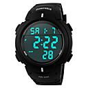 Buy SKMEI® Men's Sporty Black Watch Digital LCD Display Calendar/Chronograph/Alarm/Water Resistant Cool Unique Fashion