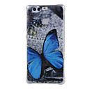 Buy Blue butterfly Shockproof TPU soft shell cover Case Huawei Ascend P9