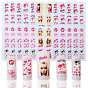 Cartoon / Lovely / Punk / Wedding Finger 3D Nail Stickers Acrylic 1 18*12*0.1
