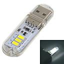 mlsled®のUSB 2.0 1ワット60lm 3x5730白色LEDライトUSBランプワット/タッチスイッチ