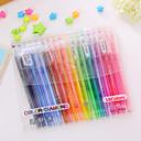 Nuttet / Forretning / Multifunksjon-Plastikk-Akvarell penner