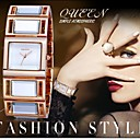 Buy WEIQIN®Luxury Hardlex Gold Mirror Strap Women's Bracelet Watches Colorful Square Dial Fashion Watch Relogio Feminino Cool Unique
