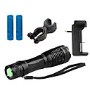 Buy Lights LED Flashlights/Torch 4000 Lumens 5 Mode Cree XM-L T6 18650 / AAAAdjustable Focus Waterproof Rechargeable Impact