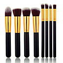 Buy Makeup Brushes set Professional Silvery/Gold Powder brush Blush Eyeshadow Brush High Kit Synthetic Cosmetic