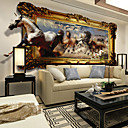 Buy JAMMORY Animals Wall Stickers 3D Stickers,Canvas Seamless Stereoscopic Large Mural Horse S M L XL XXL 3XL
