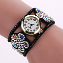 Buy Women's Quartz Analog White Case Flower Leather Band Bracelet Wrist Watch Jewelry Cool Watches Unique Fashion