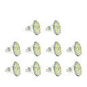 10 stk. GU4(MR11) 6 W 12 SMD 5730 570 LM Varm hvit / Kjølig hvit MR11 Spotlys DC 12 V