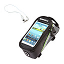 Buy Bike Bag 1.5LLBike Frame / Saddle Waterproof Reflective Strip Wearable Touch Screen Bicycle Nylon PVC Cycle