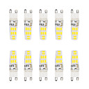 Buy 5W G9 LED Bi-pin Lights T 16 SMD 5733 300 lm Warm White / Cool Waterproof AC 220-240 V 1