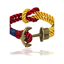 Buy Punk Fashion Men's Bracelet Bronze Anchor Alloy Chain Bracelets / Wrap Daily