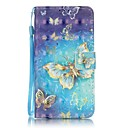 Buy EFORCASE® Gold Butterfly 3D Painted Lanyard PU Phone Case Huawei P9lite