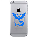 Buy TPU Material Flaming Phenix Pattern Painted Relief Phone Case iPhone 6s Plus / 6 Plus/6S/6