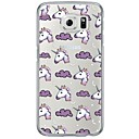 Buy Cartoon Unicorn Pattern Soft Ultra-thin TPU Back Cover Samsung GalaxyS7 edge/S7/S6 edge/S6 edge plus/S6/S5/S4