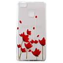 Buy Huawei Ascend P9 P9Lite P8Lite Case Cover Safflower Pattern Painting Super Soft TPU Material