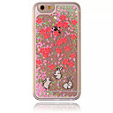Buy iPhone 7 Case / 6 5 Flowing Liquid Transparent Pattern Back Cover Christmas Hard PC Apple