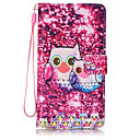 Buy Lovely Owl Pattern PU Leather Lanyard phone Case HuaWei P9 lite