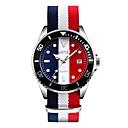 Buy SKMEI Men's Fashion Watch Wrist watch Calendar Water Resistant / Proof Casual Quartz Japanese Fabric Band Luxury