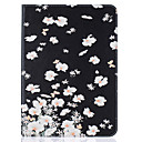 Buy Samsung Galaxy Tab T815 T715 T580 T560 T550 T377 T280 T350 PU Leather Material Small White Flowers Embossed Pattern Plate Sets