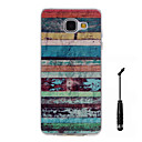 Buy Samsung Galaxy A5(2016) A3(2016) Case Cover Color Stripes Pattern Super Soft Painting TPU Material Phone CaseTouch Screen Pen