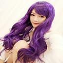 Buy Lolita Wigs Sweet Long Purple Wig 75 CM Cosplay Women