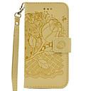 Buy Samsung Galaxy J3 (2016) J5 J7 Hand Rope Style Flowers Embossing PU Card Holder Wallet Phone Cover