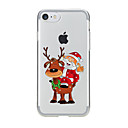 Buy IPhone 7 7Plus Cartoon Christmas Pattern TPU Translucent Soft Back Cover iPhone 6s 6 Plus 5s 5 5E 5C