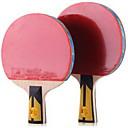 Buy 6 Stars Ping Pang/Table Tennis Rackets Pang Wood Long Handle Pimples