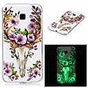 Buy Samsung Galaxy 7 (2016) J7 J5 Cover Case Glow Dark IMD Pattern Back Sika deerSoft TPU J3 Grand Prime