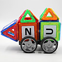 Buy Magnet Toys 64 Pieces Building Blocks Jigsaw Puzzle Magnetic Executive Cube DIY Balls Rainbow