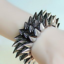 Buy Bracelet Ring Lace Flower Gothic/Lolita Vintage Halloween Jewelry Gift Black,1pc