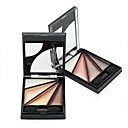 Buy Fashion 4 Colors Smoky Pigment Eye Shadow Brush Brand Cosmetic Naked Makeup Natural Shimmer Eyeshadow Palette