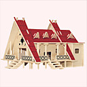 Buy Jigsaw Puzzles Wooden Building Blocks DIY Toys Thai Style House 1 Wood Ivory Model & Toy