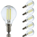 Buy 3.5W E14 LED Filament Bulbs P45 4 COB 400/350 lm Cool White/ Warm White AC 220-240 V