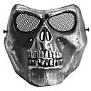 Máscara de respiración Senderismo Camping Táctico Duradero Protector metal Negro