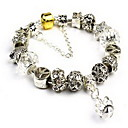 Buy Bracelet Chain Crystal Others Natural Birthday Gift Jewelry Black White Yellow Red Purple Gray Pink,1pc