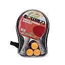 Buy Ping Pang/Table Tennis Rackets Ball Pang Rubber Long Handle Pimples2 3 Table Balls 1