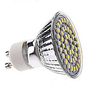 3w gu10 led 스포트 라이트 mr16 48smd 3528 300 lm 자연 흰색 ac220-240 v 1pcs