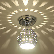 플러쉬 마운트 ,  컴템포러리 / 모던 일렉트로플레이티드 특색 for LED 미니 스타일 금속 거실 주방 입구 현관