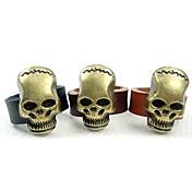 eruner®men의 유럽 스타일의 3 차원 해골 반지 (모듬 크기)