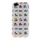 용 아이폰5케이스 엠보싱 텍스쳐 케이스 뒷면 커버 케이스 타일 하드 PC iPhone SE/5s/5