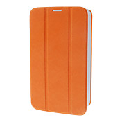 Tri-Fold Faux Leather Flip Case con soporte para Samsung Galaxy P3200 TAB3