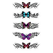 5 PCS 나비 방수 임시 문신 (10.5 *의 20.5) HM322