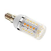 5W E14 LED 콘 조명 T 36 SMD 5050 480 lm 따뜻한 화이트 밝기 조절 AC 220-240 V