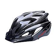 FJQXZ 여성용 남성용 남여 공용 자전거 헬멧 18 통풍구 싸이클링 도로 사이클링 사이클링 중간: 55-59cm; 라지: 59-63cm;