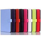 Para Funda Samsung Galaxy con Soporte / Flip Funda Cuerpo Entero Funda Un Color Cuero Sintético Samsung Tab 4 8.0