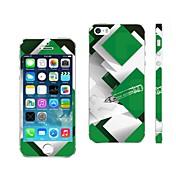 Mezcla de la piel cubierta de color móvil de diseño para el iPhone 5/5S KSCT0013 AIKUSU ®